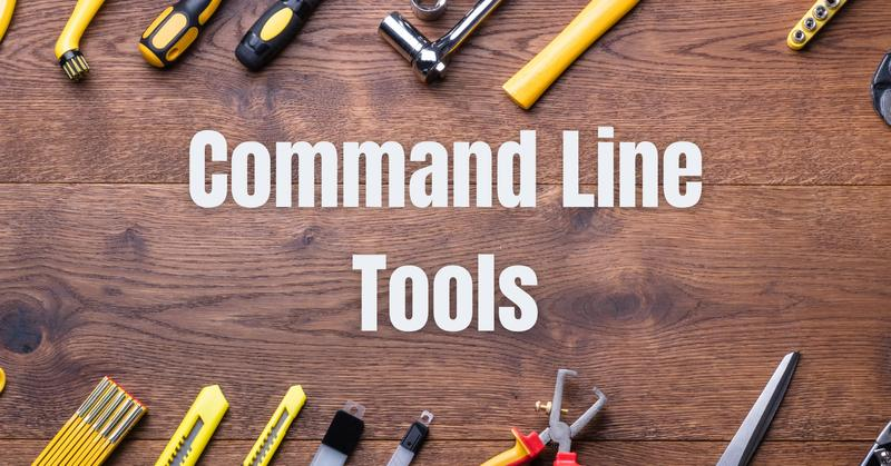 Command Line Tools image